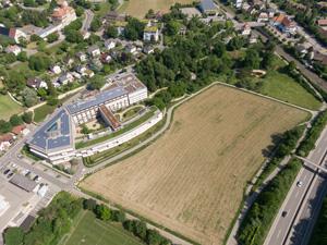 BiLa Dok 5 Münchenstein Obstgarten Hofmatt Luft Aufnahmen