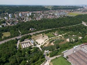BiLa Dok 7 Reinach Natur und Erlebnis Weiher Luft Aufnahmen Zusatz
